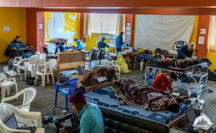 Laboratoire à La Rinconada, Expedition 5300©