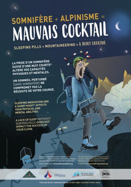 Somnifère et alpinisme, mauvais cocktail.